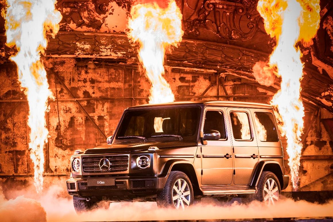 The new Mercedes G-Class: the iconic boxy shape remains unchanged, but there's big advances in comfort, refinement and intelligence