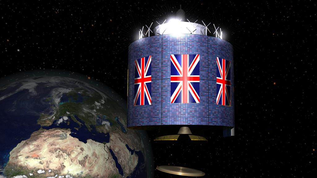 The new UK Space Agency and Space Center address the industry's rapid growth - currently three times faster than the rest of the economy (Image: Digitally altered from ESA source image)