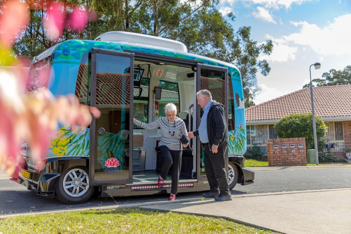 The BusBot program is currently being offered in the Marian Grove Retirement Village