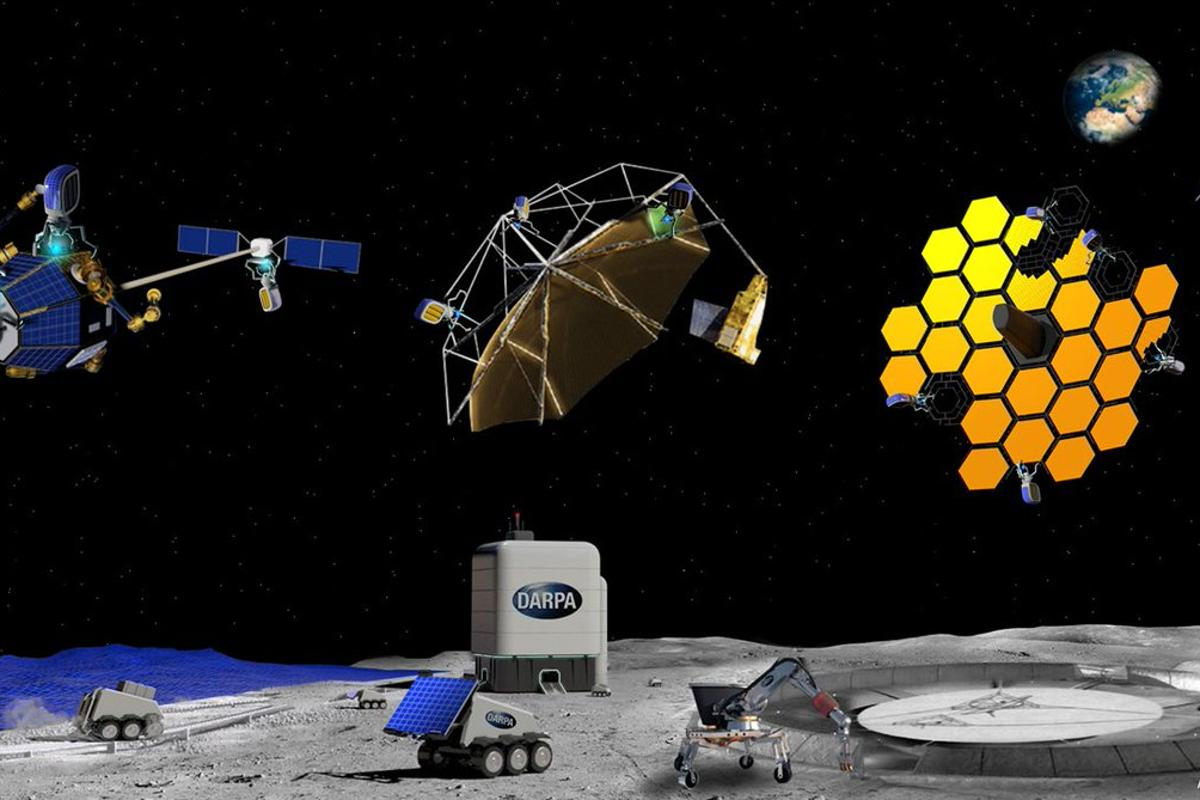 DARPA is seeking proposal for the manufacture of large structures in space
