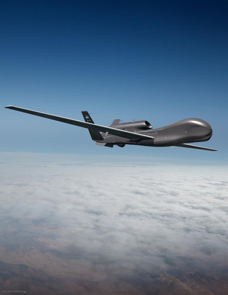 "The ""Polar Hawk"" will be designed to airborne provide surveillance in harsh Arctic conditions"