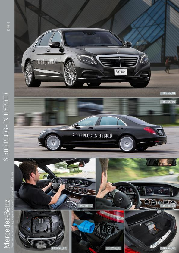 S-Class luxury meets plug-in hybrid efficiency