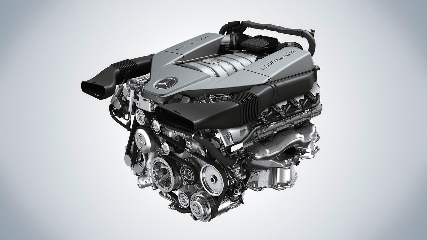 Best Performance Engine - Mercedes-AMG with its 6.2-liter V8