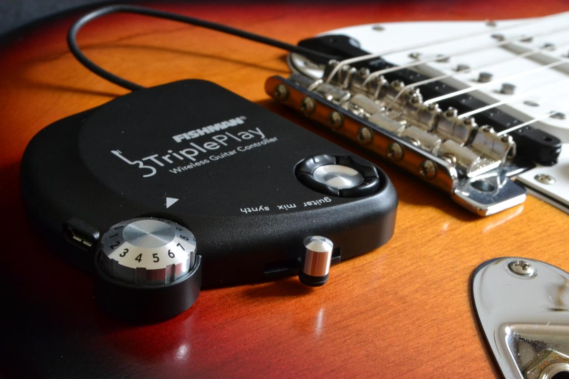 Gizmag reviews the TriplePlay wireless MIDI controller and pickup from Fishman (Photo: Paul Ridden/Gizmag)