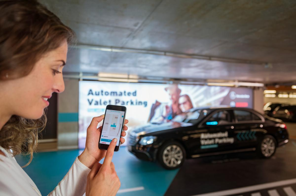 Visitors tothe Mercedes-Benz Museum in Stuttgart can now take advantage of the first officially-approved driverless automated valet parking system