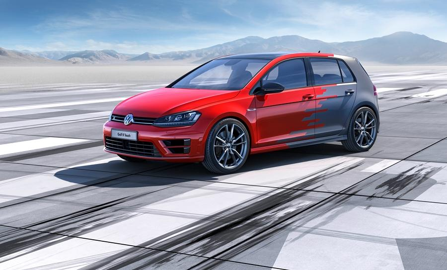 The Volkswagen Golf R Touch concept car