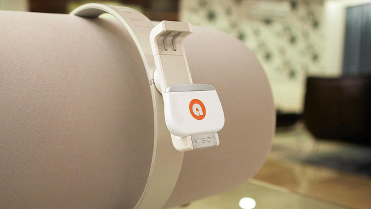 The skye system allows users to wirelessly play their music on devices that would not normally support Wi-Fi