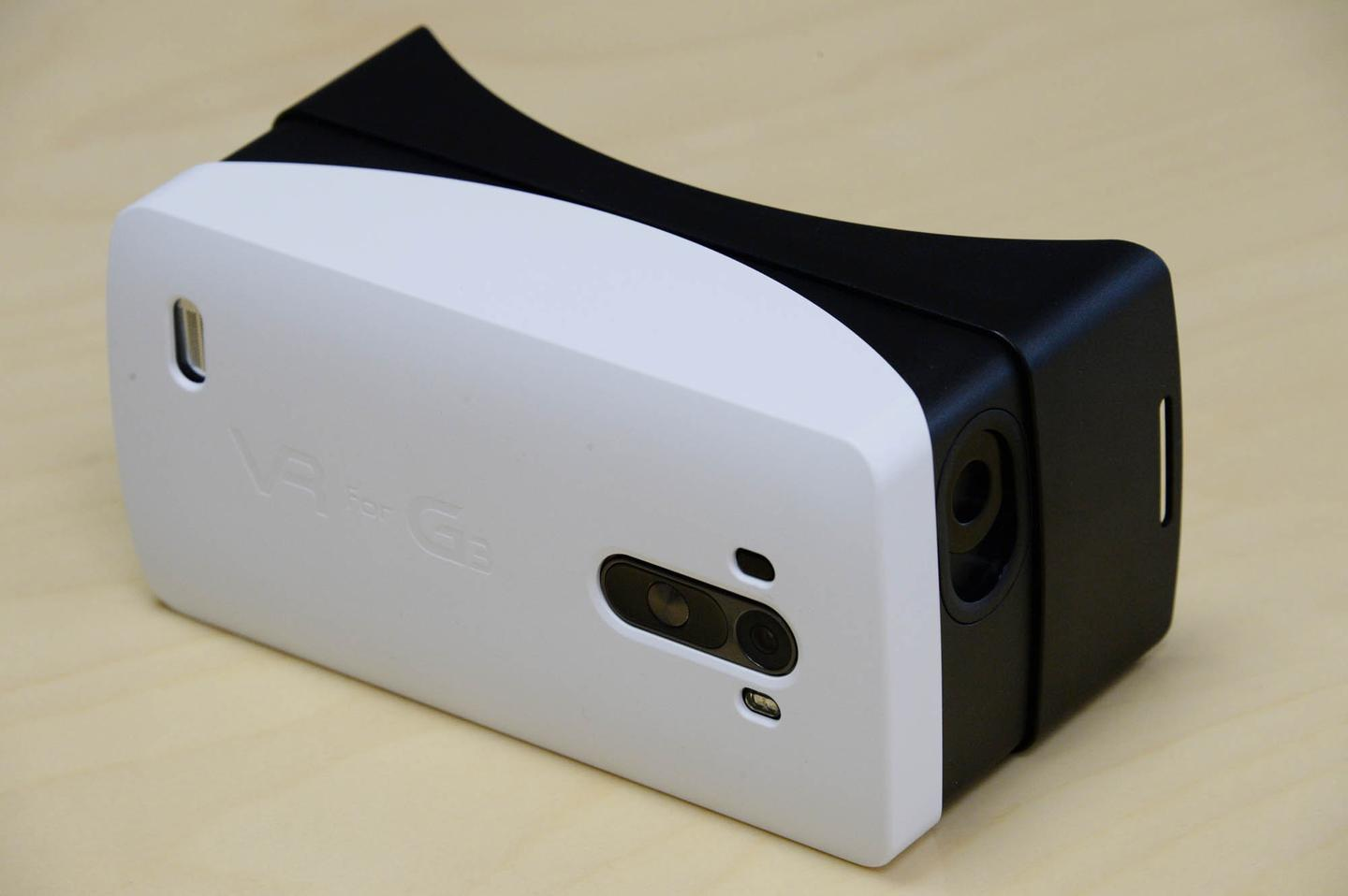 Assembled VR for G3 headset, with G3 inside