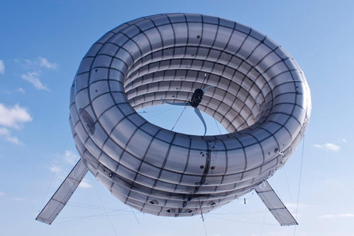 Altaeros Energies have created a floating wind turbine that produces low cost, renewable energy