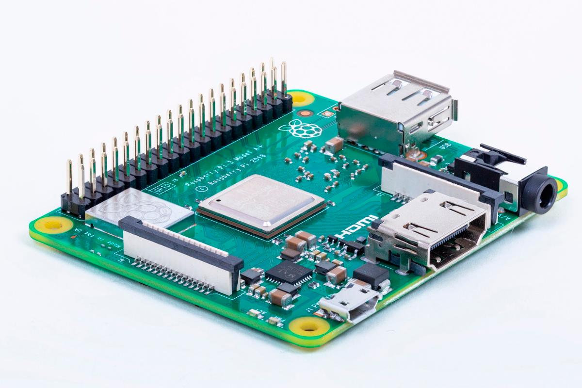 The Pi 3A+ has the same processor, dual-band Wi-Fi and improved thermals as the bigger Pi 3B+