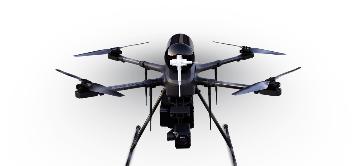 BShark's Narwhal 2 offers twohours endurance and 30 km range for both control and video transmission