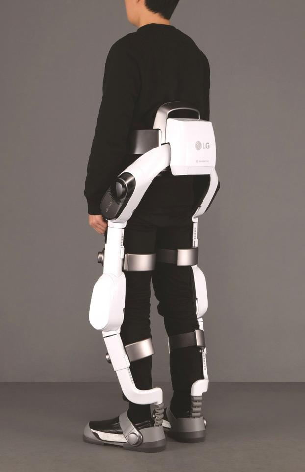 LG's CLOi SuitBot is an AI-powered exoskeleton