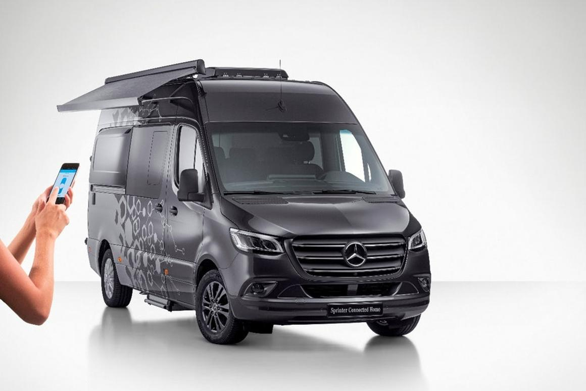 Mercedes empowers smart-home-like camper vans and 4x4
