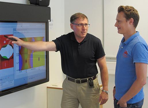Project lead Igor Abrikosov and study co-author Marcus Ekholm discuss their discovery