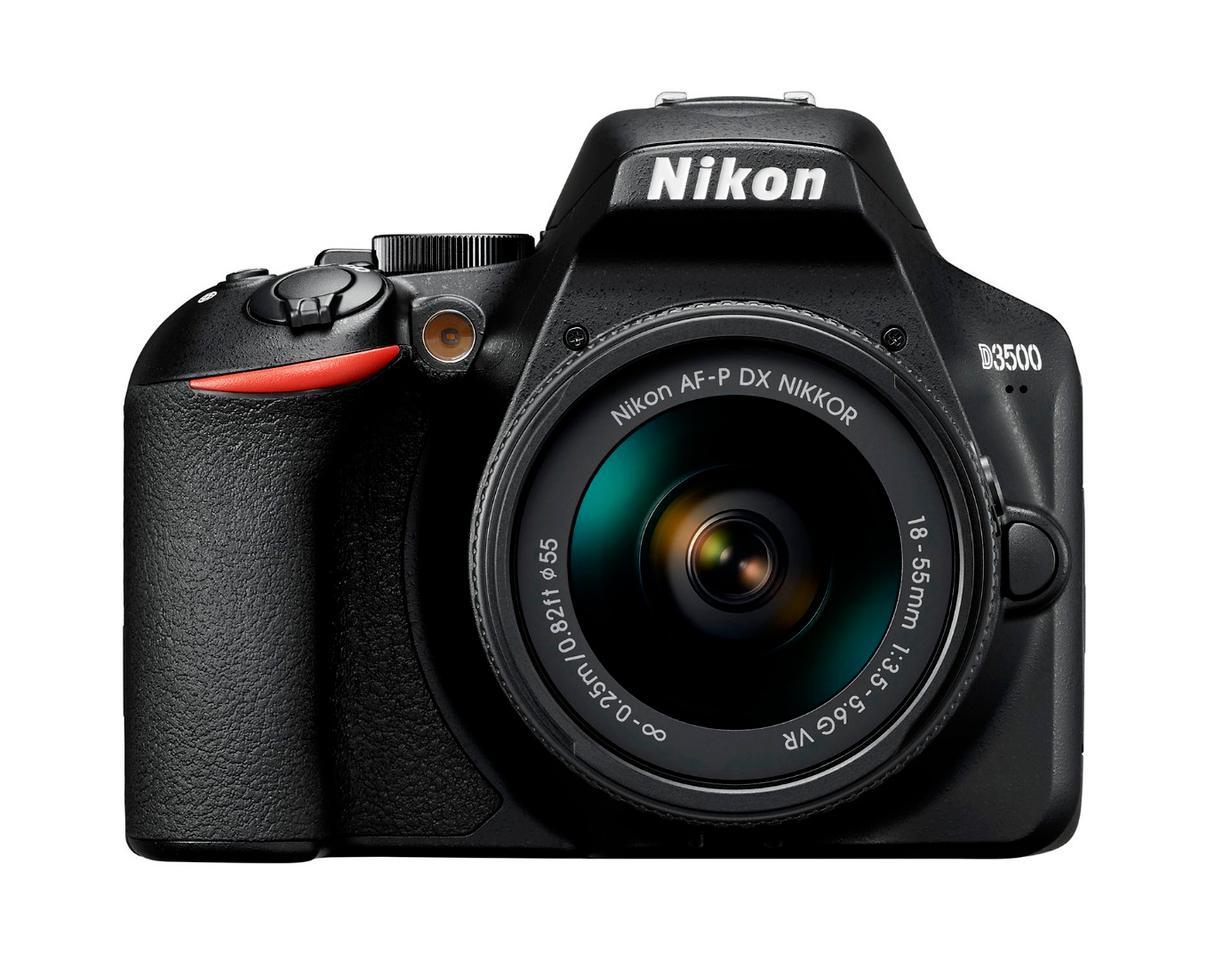 Nikon's D3500 entry-level DSLR replaces 2016's D3400