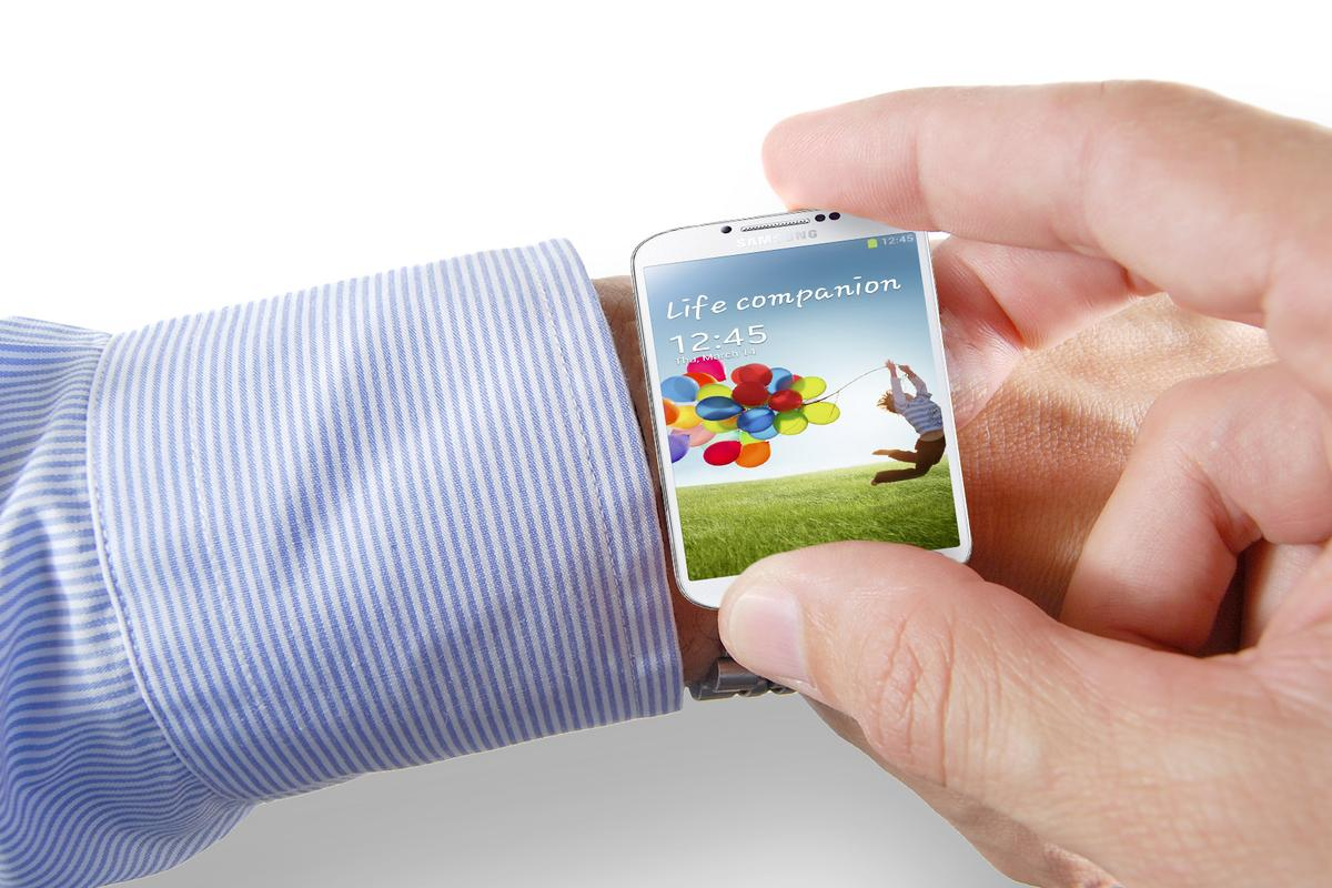 Samsung VP Lee Young Hee confirmed that his company is working on a smart watch(wrist image: Shutterstock)