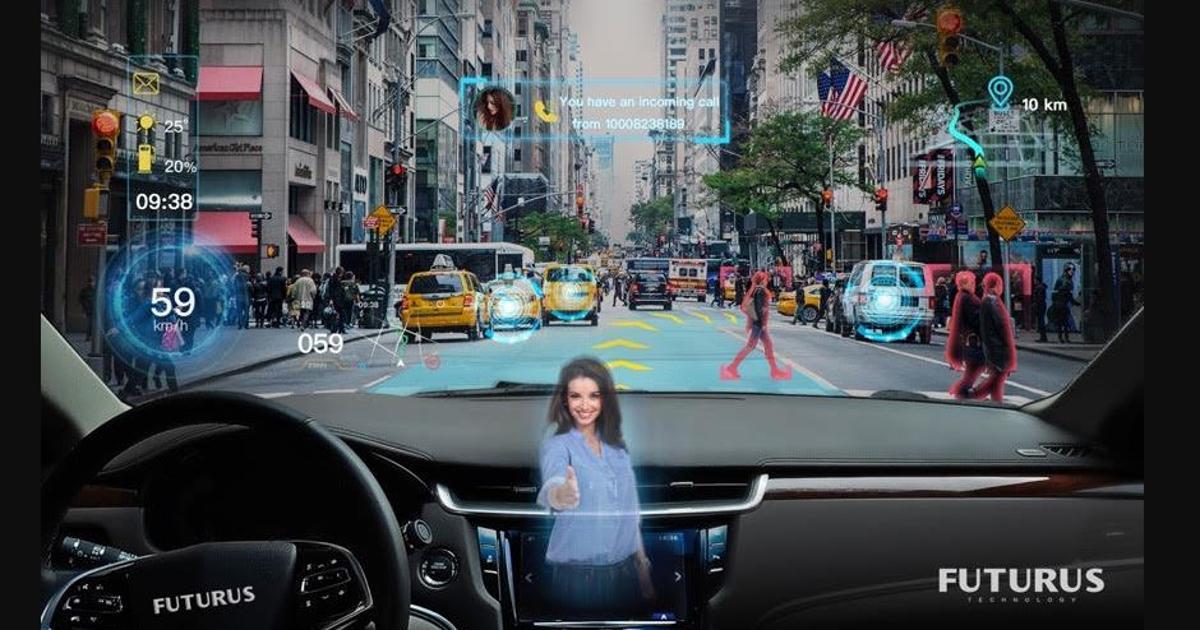Futurus wants to turn your car's whole windscreen into an AR display