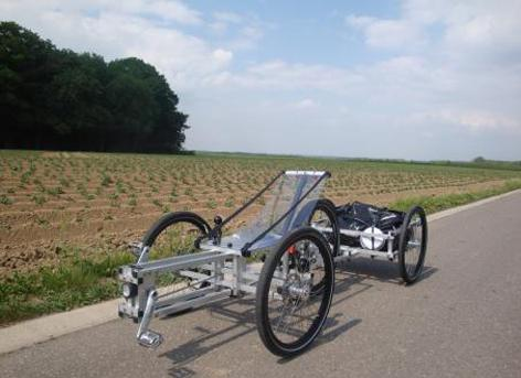 XYZ Spaceframe Vehicle designs can be built at home using basic tools and materials