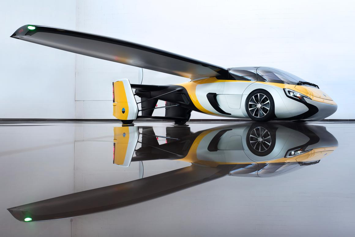 The AeroMobil Flying Carwillrequire a pilot's license