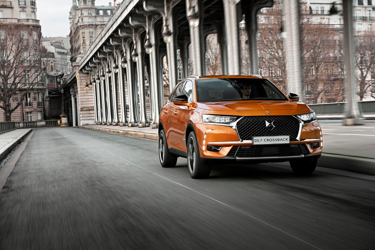 The new DS7 will launch at the Geneva Motor Show