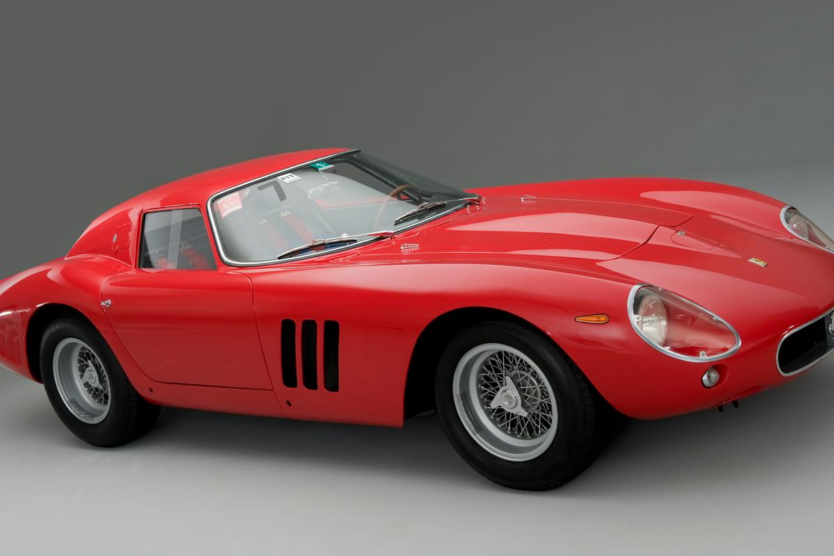 Lovely to look at, even better to drive ... the cherished and extremely rare 1963 race-bred Ferrari 250 GTO which has just changed hands