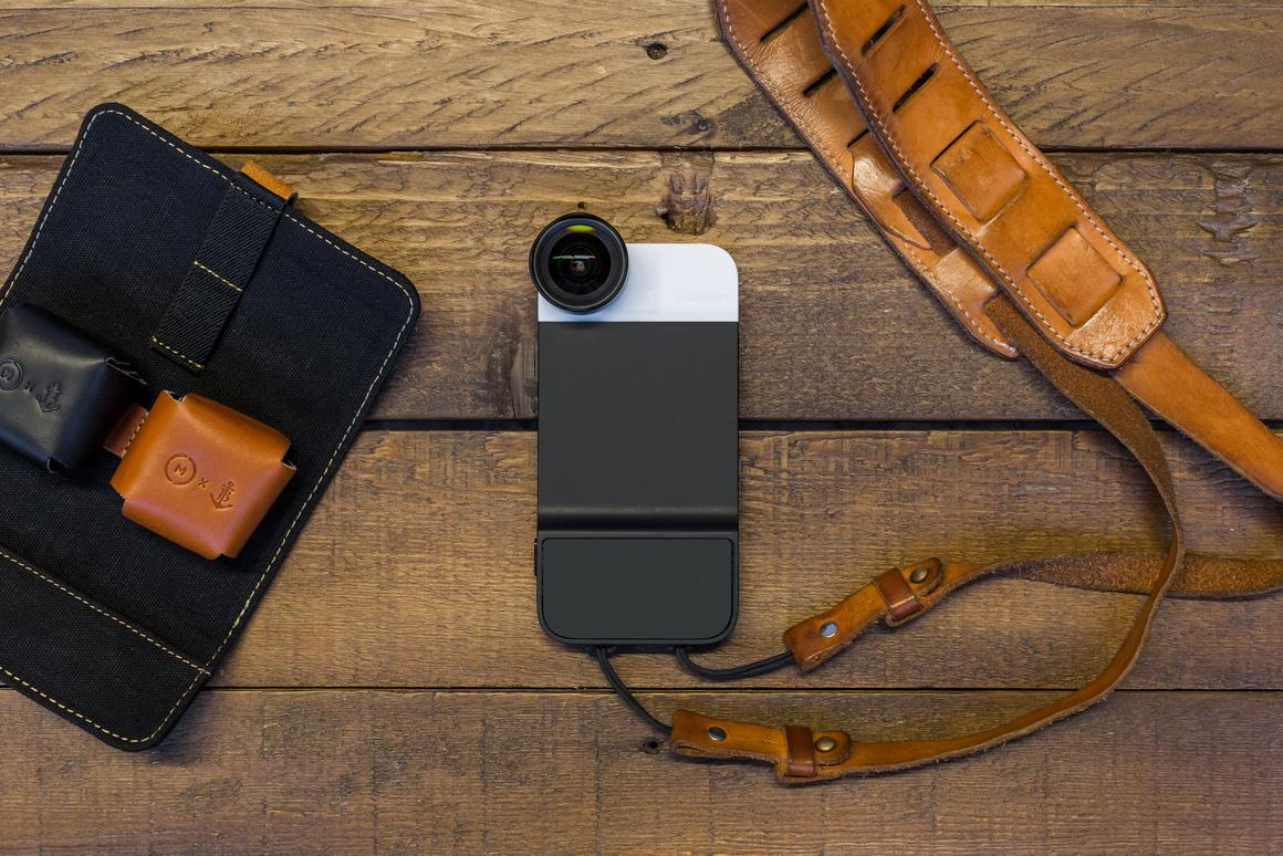 The Moment Case is designed to make the iPhone 6 an even better camera with interchangeable lenses and a shutter button