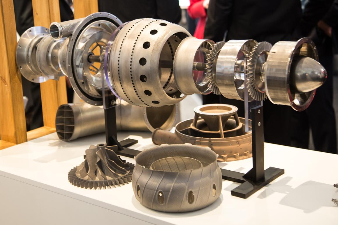The world's first 3D-printed jet engine on display at the Avalon International Airshow (Photo: Noel McKeegan/Gizmag.com)