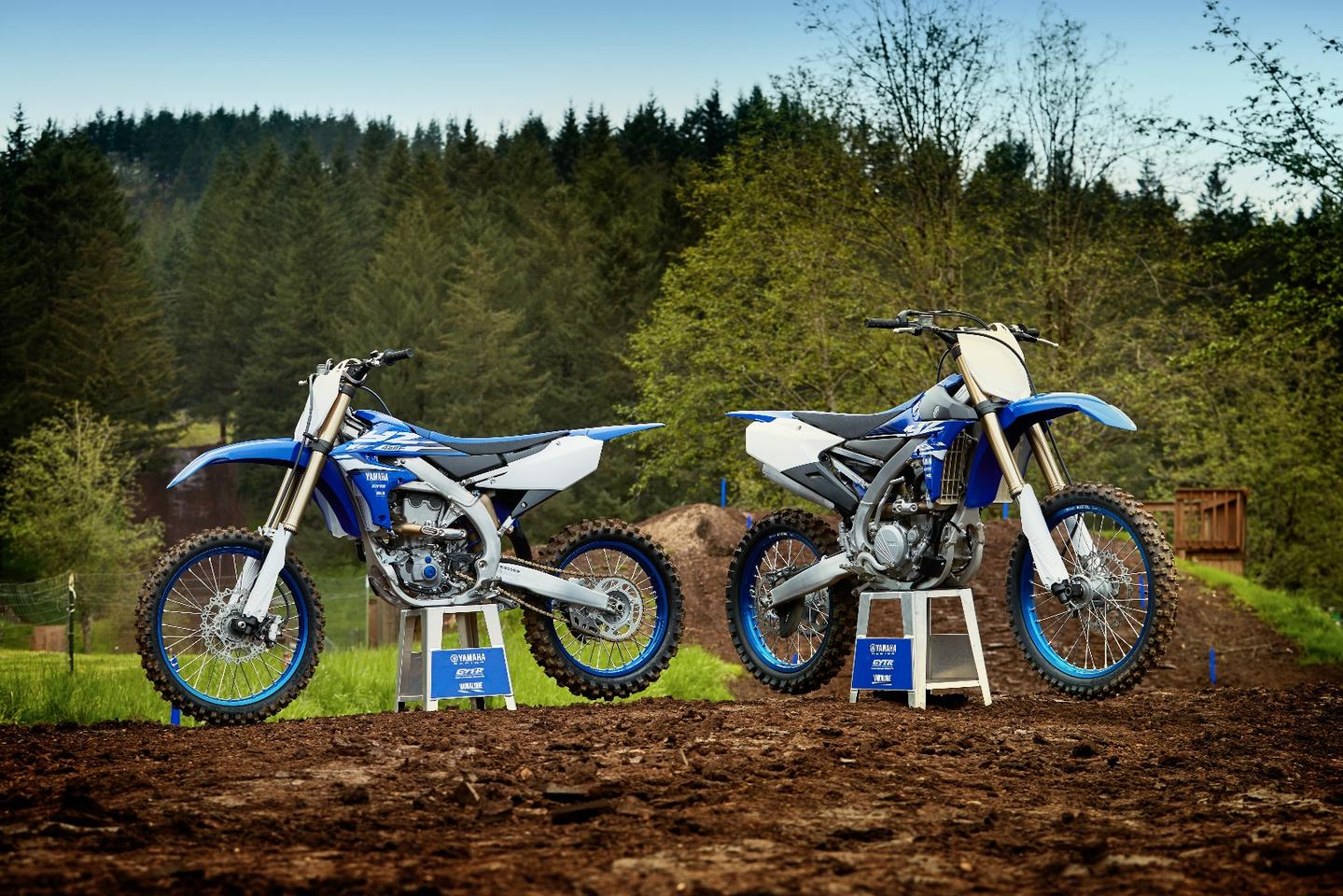 2018: Yamaha YZ450F: slightly lighter and a lot smarter