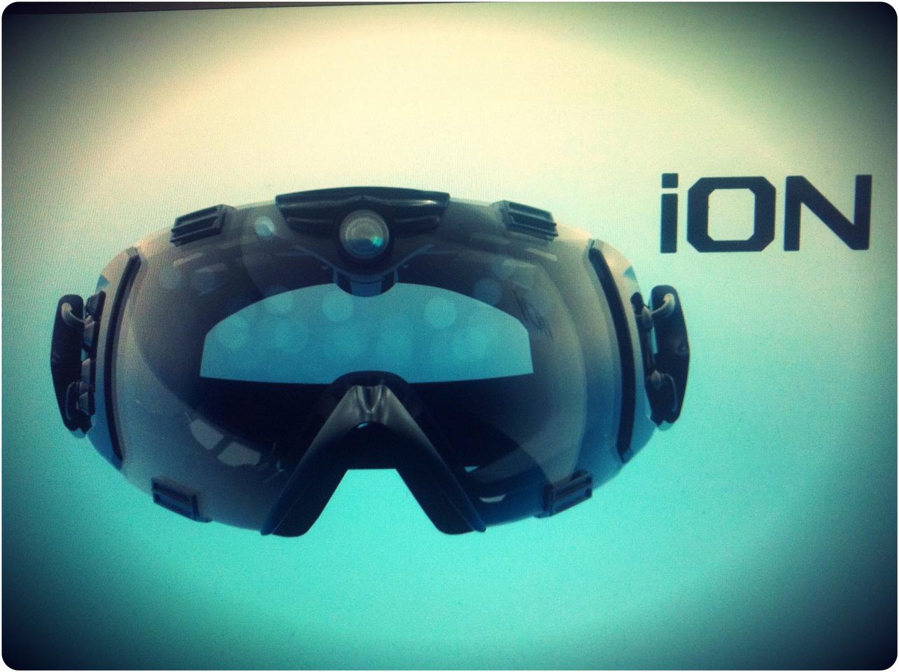 HD Camera and ski goggles combine in the Zeal iON