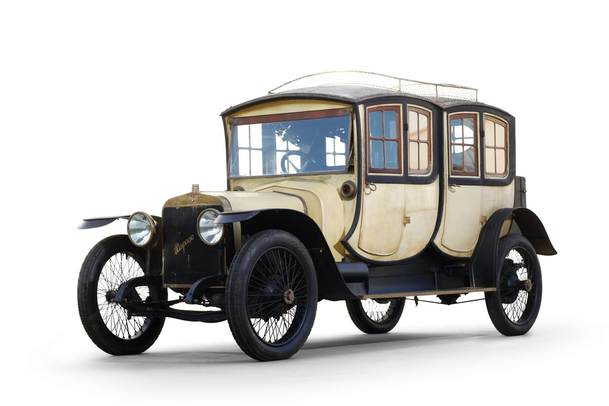 King Alfonso XIII was a huge fan of the Hispano Suiza line of vehicles (Photo: Dave Teel, RM Auctions)
