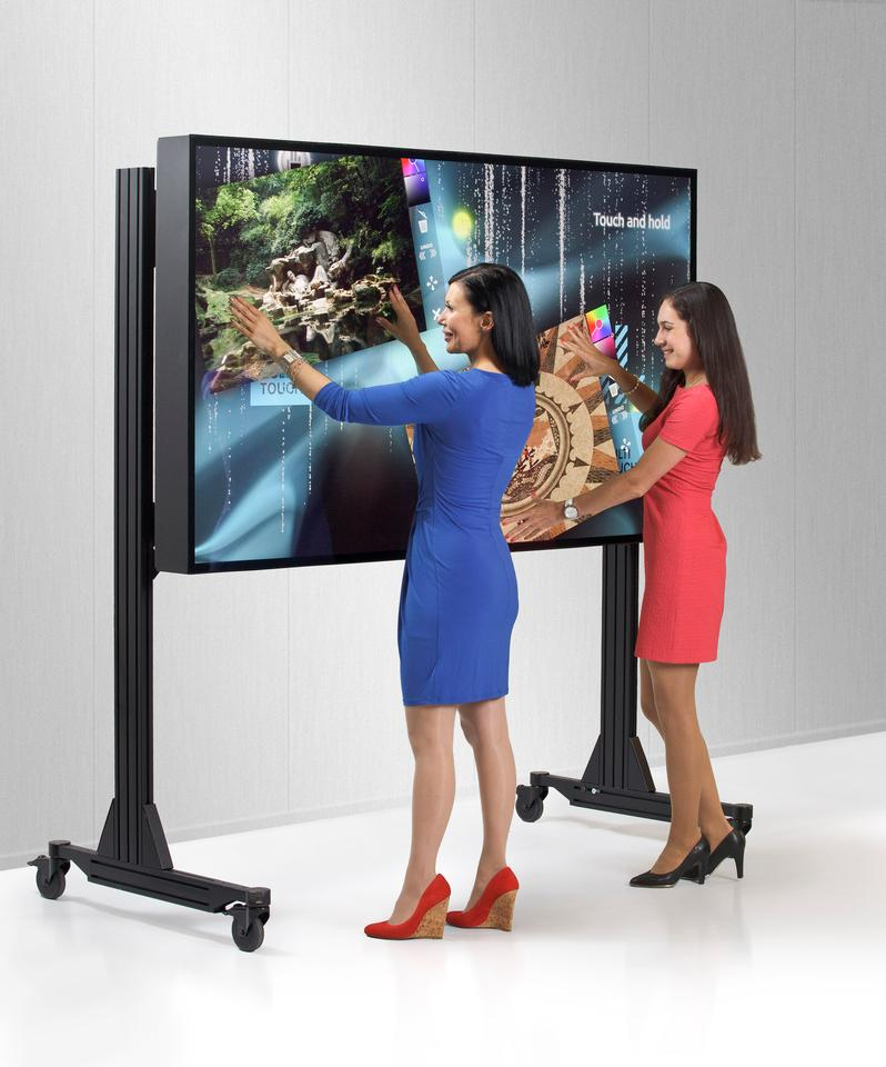 The MT840UHD MultiTaction Cell Display from MultiTouch Ltd