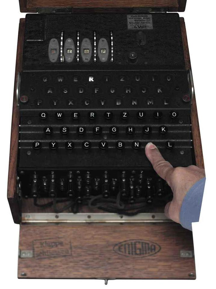 A previous M4 Enigma sold for US$463,500 in 2016