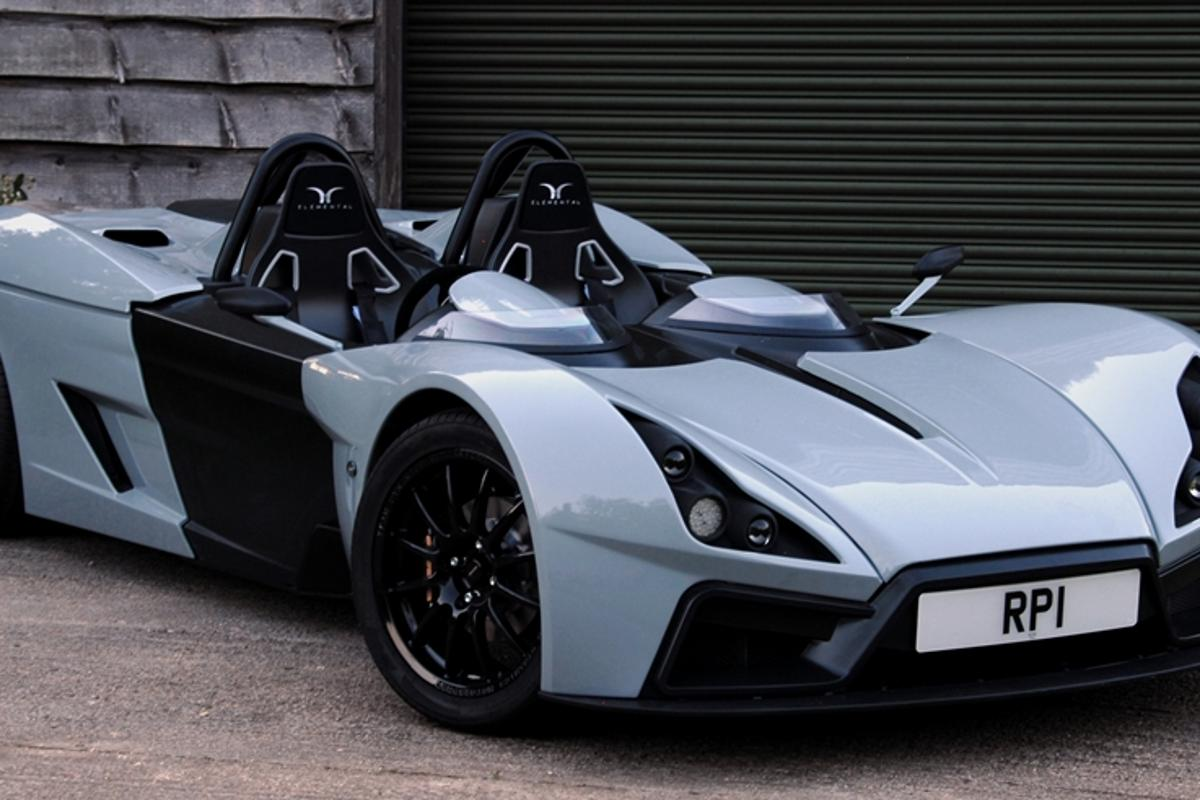 Elemental Car has unveiled its new RP1 two-seat racer