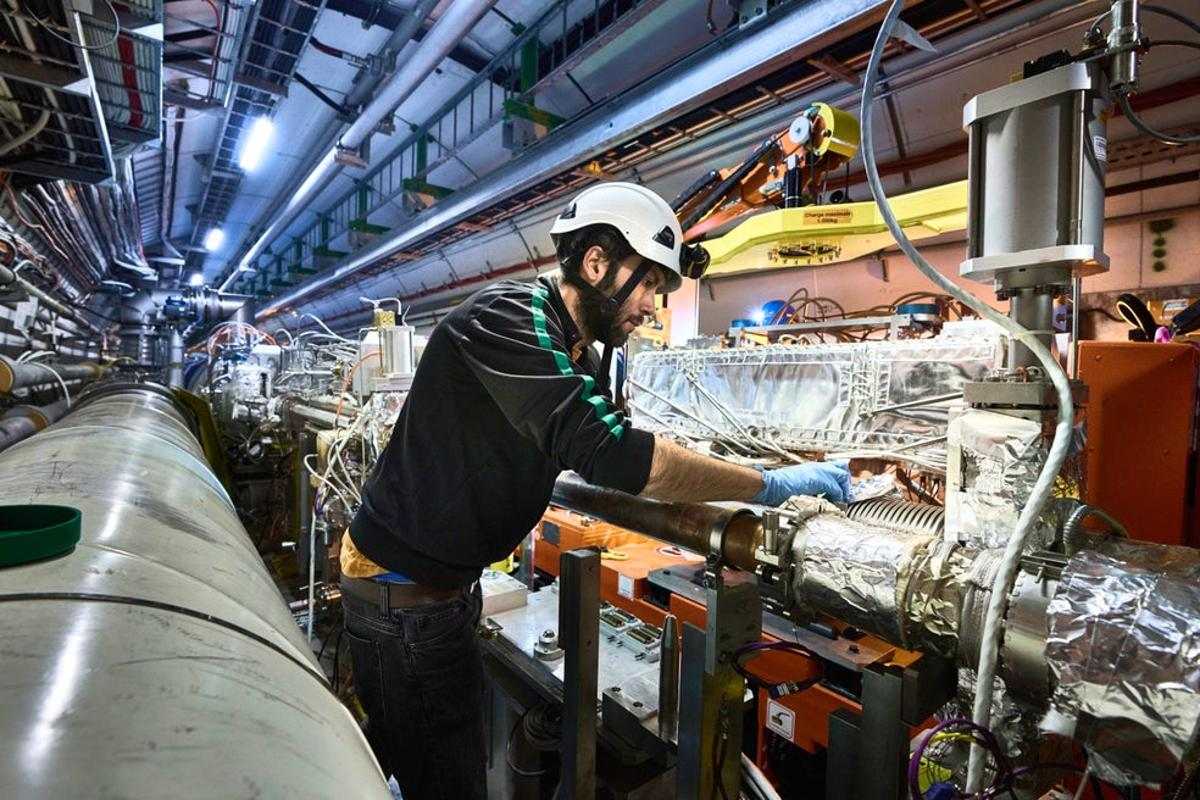 The Large Hadron Collider undergoes some earlier upgrades