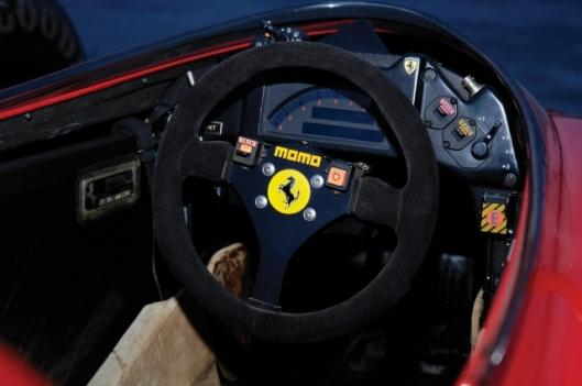 Up for grabs: Alain Prost's 1990 Ferrari 641/2 F1 car