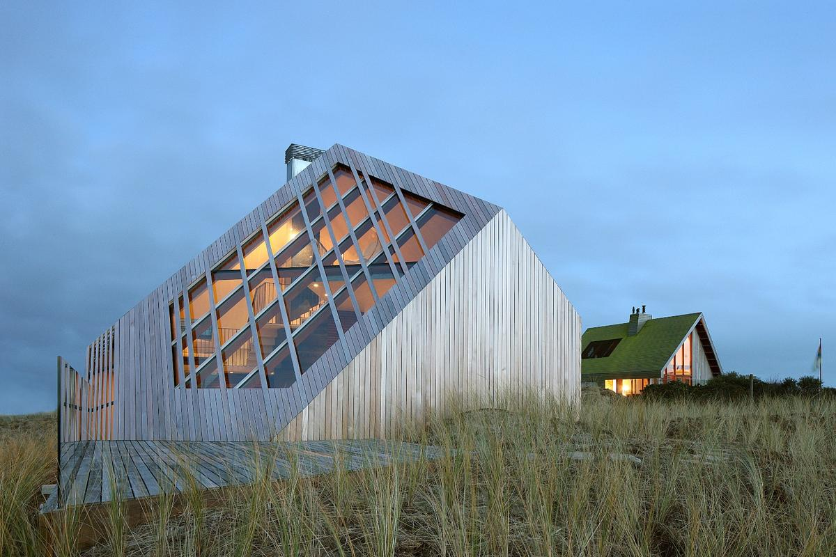 The recently-completed Dune House, by Dutch firm Marc Koehler Architects (Photo: Filip Dujardin)