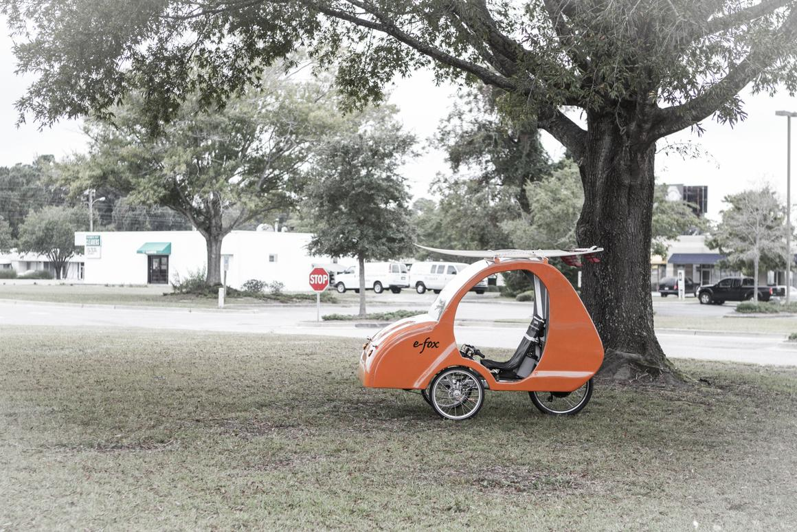e-fox velomobile wants to be your next