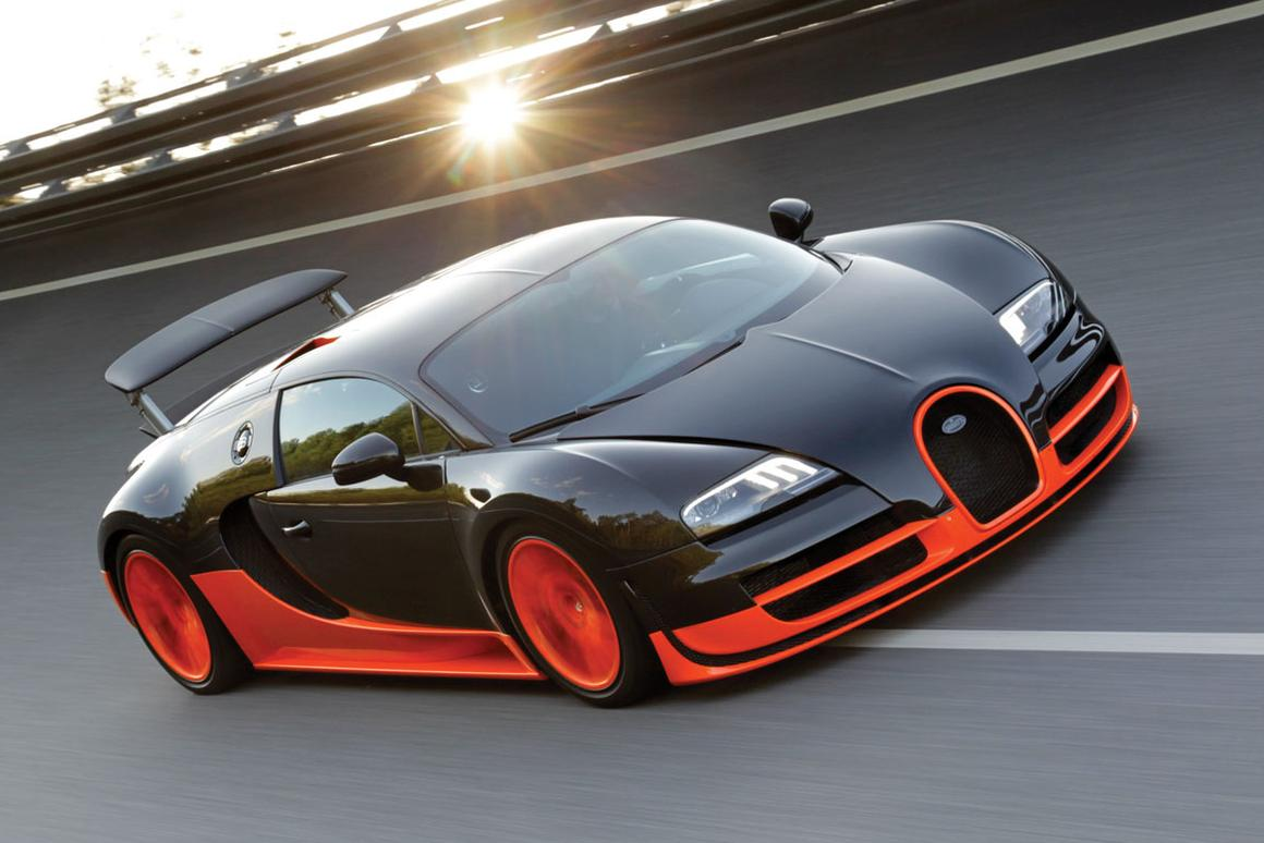 The Bugatti Veyron Super Sport 16.4 is (officially)the fastest production car in history