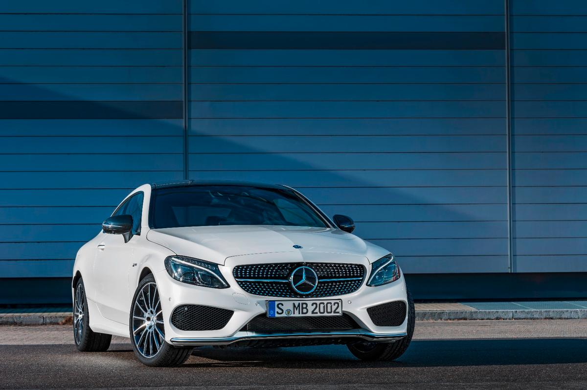 The Mercedes C43 4Matic Coupe joins the C63 in redefining the C-class