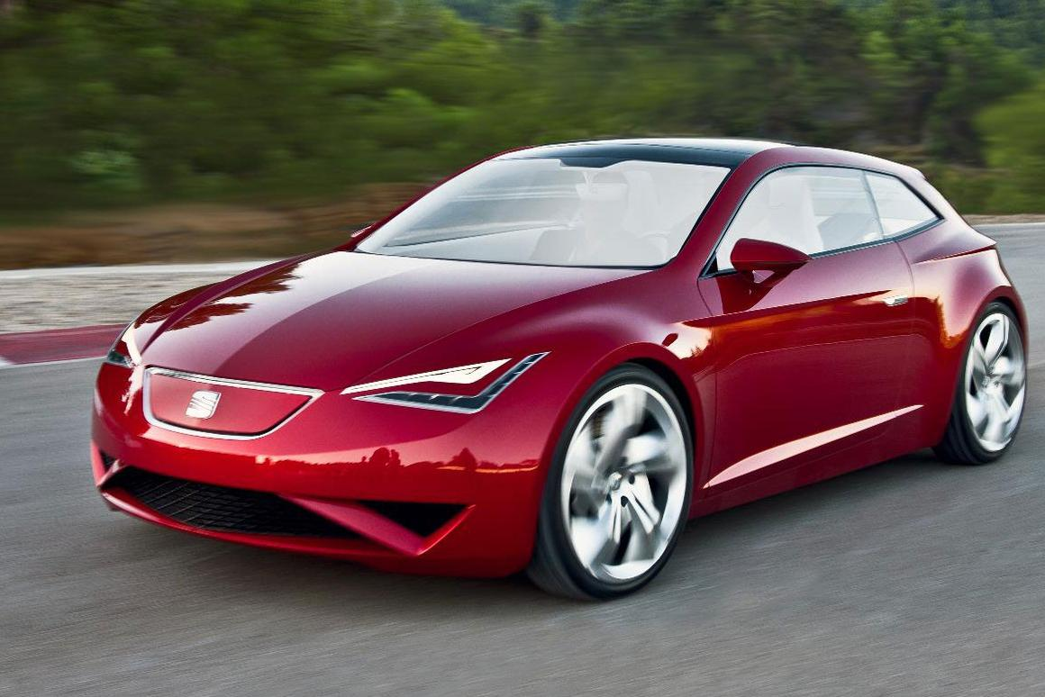 SEAT's IBE electric sports coupe concept
