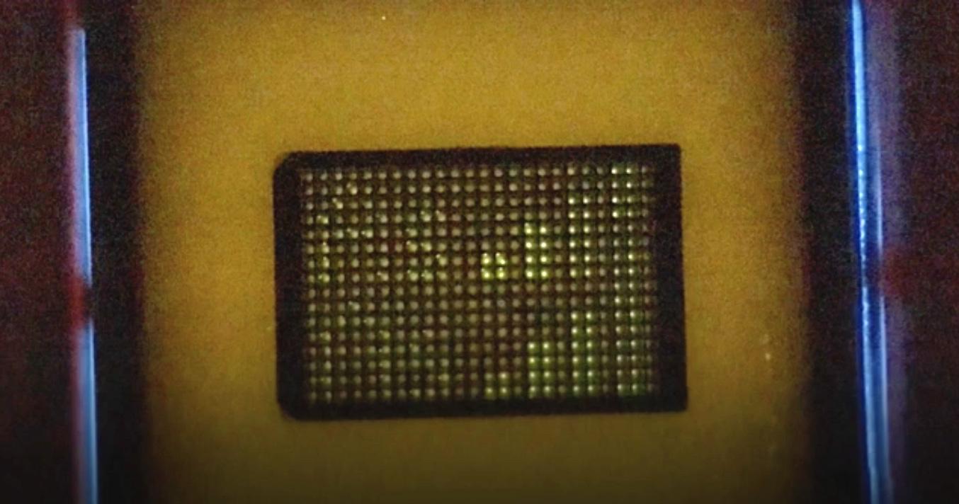 The prototype plastic arsenic-sensing device
