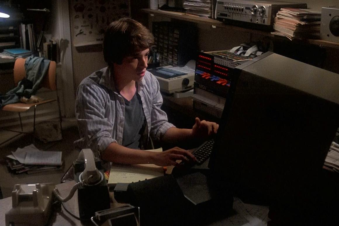 "Matthew Broderick ""war-dialing"" in Wargames - to this day one of the more accurate representations of computer hacking in Hollywood cinema."