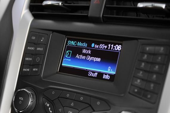 Glympse for Ford Sync