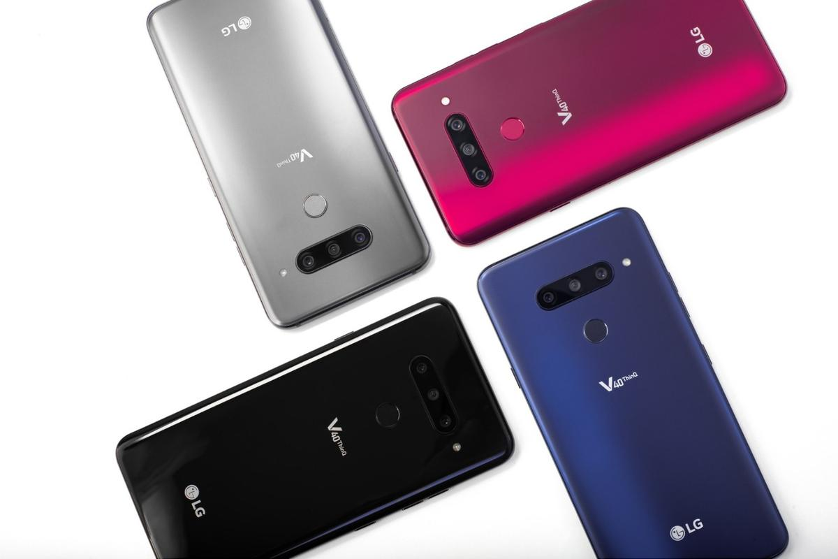 LG has unveiled the V40 ThinQ, which is kitted out with no less than five cameras