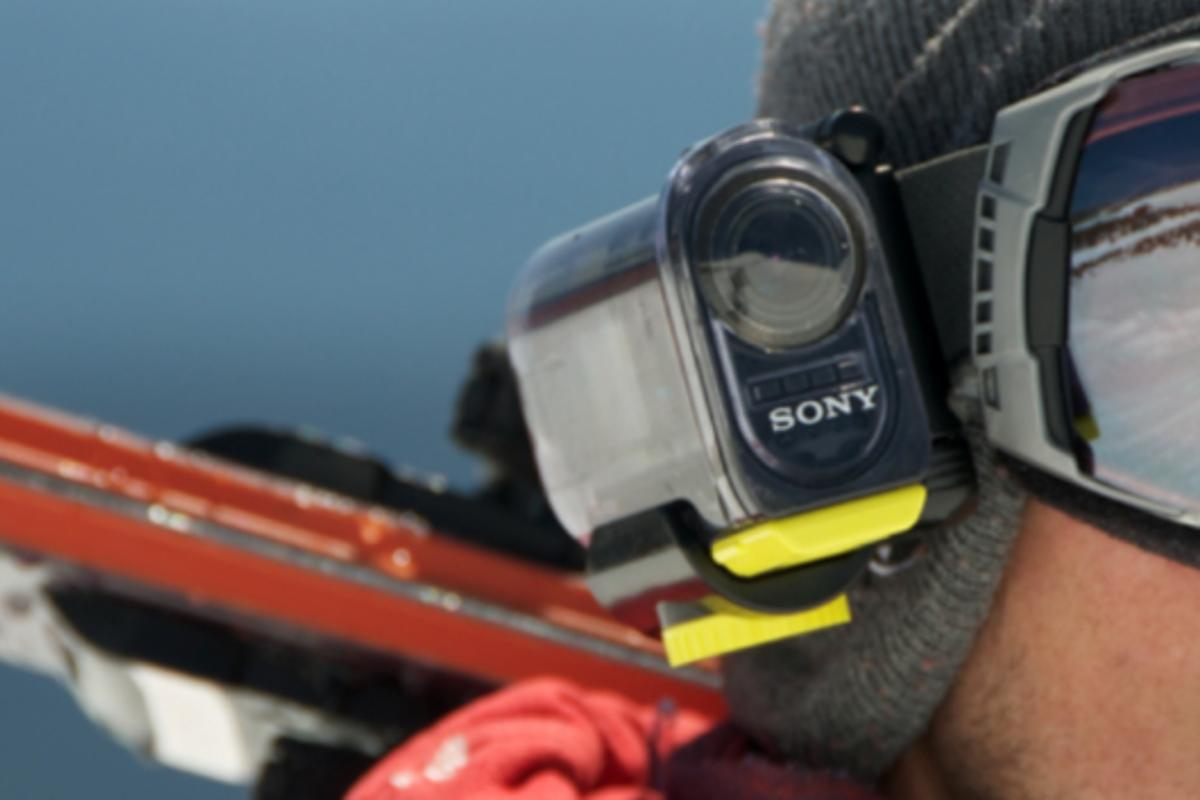 Sony's yet-to-be-named action cam