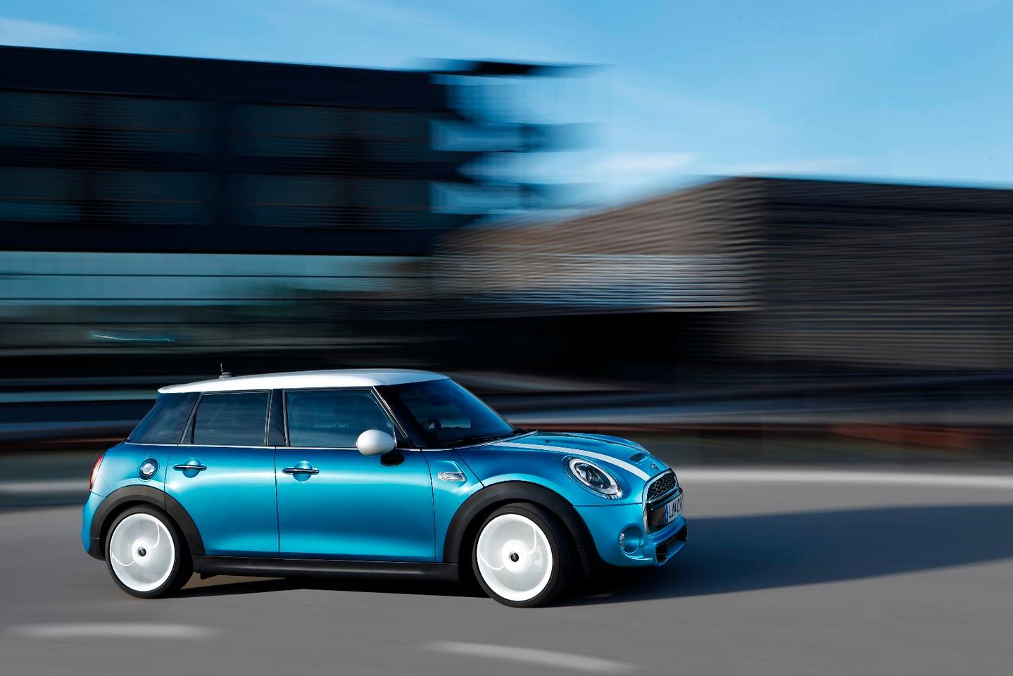 Mini will be showing off the five-door Cooper Hatch inShanghai