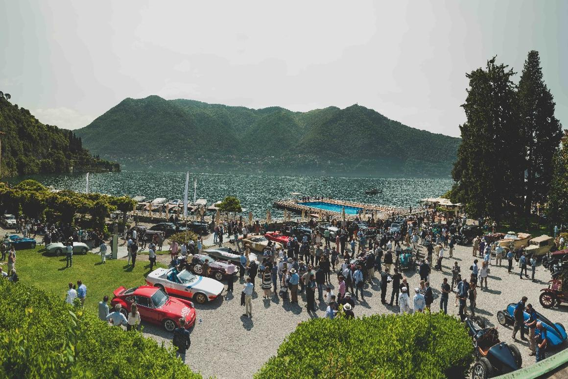 Concours events always seem to be held in picturesque surroundings, and the Villa Erba and Villa d'Este connection makes for a wonderful and supportive local environment.