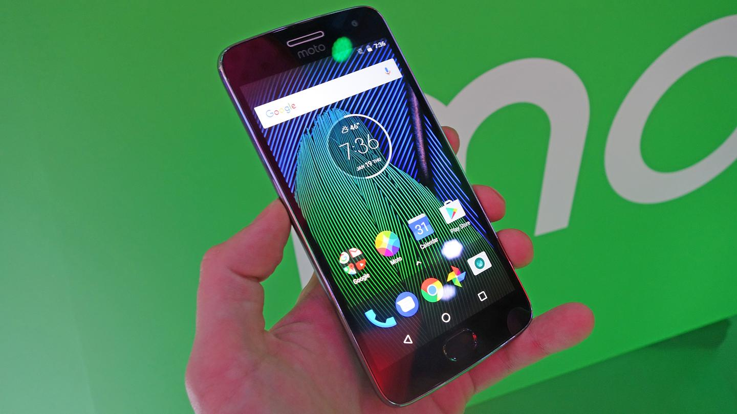The Moto G5 Plus is one of two new Motorola phones appearing at Barcelona