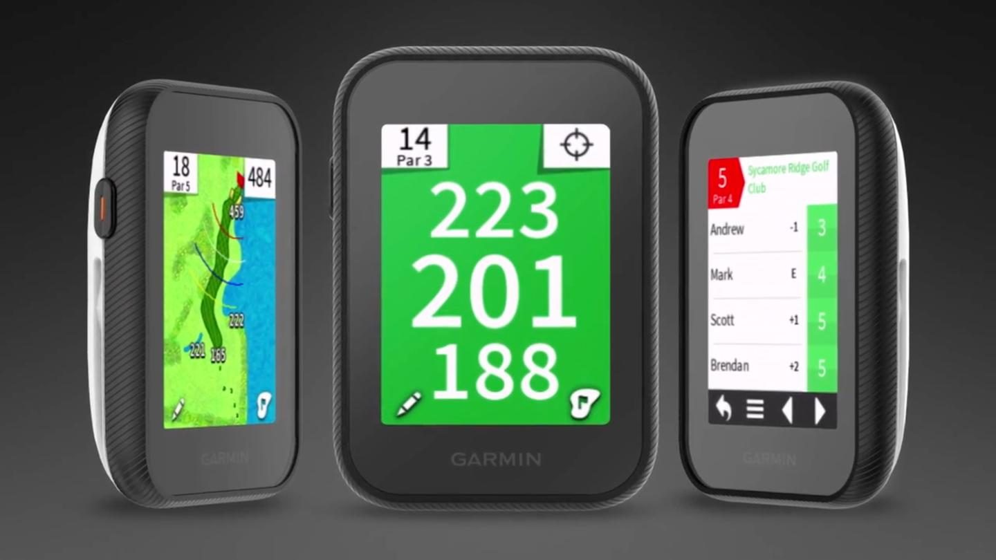 The GarminApproach G30, on sale now for golfers wanting some hi-tech help with their game