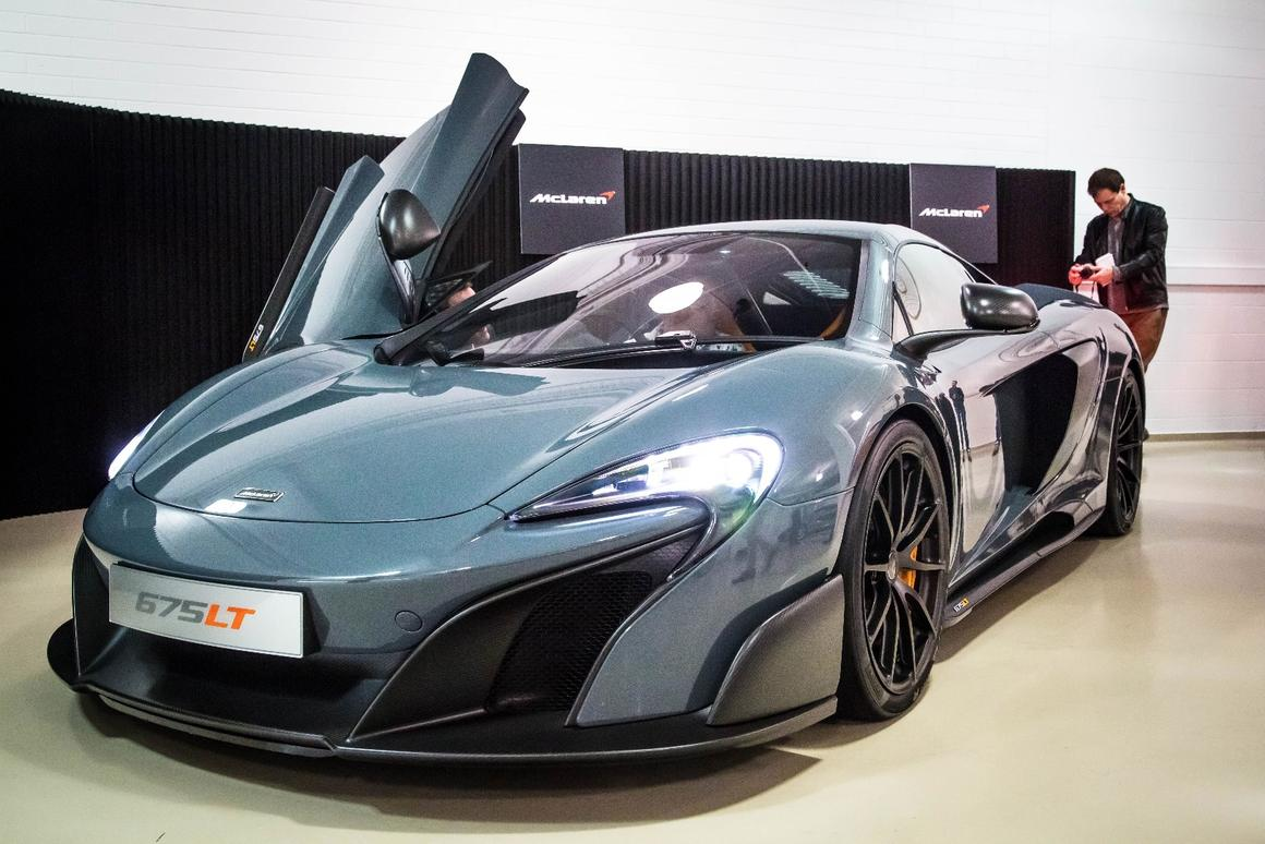 The McLaren 675LT's body packs a real punch, especially when you compare it to the 570S on which it is based